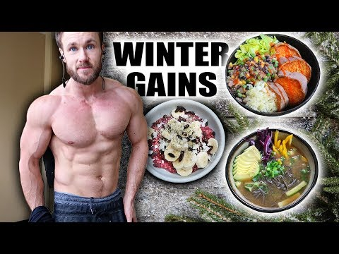 Nutrition - WHAT I EAT WINTER BULK  JUST THE FOOD