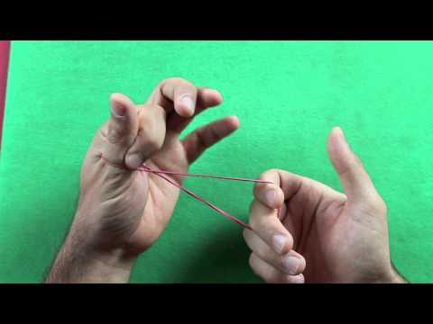 incredibile trucco con un elastico