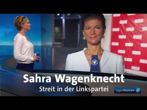 Sahra Wagenknecht zum Führungsstreit bei der Linkspartei