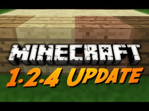 Minecraft 1.2.4 Released and Download