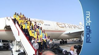 NASRI GETS MOBBED BY FANS   Today On Tour   Abu Dhabi 2014
