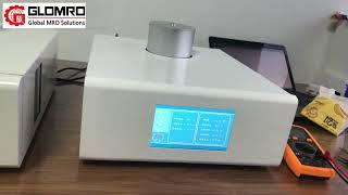 DTA Differential Thermal Analyzer LCD Touch Screen 0.001mW Glass Transition Temperature Testing youtube video