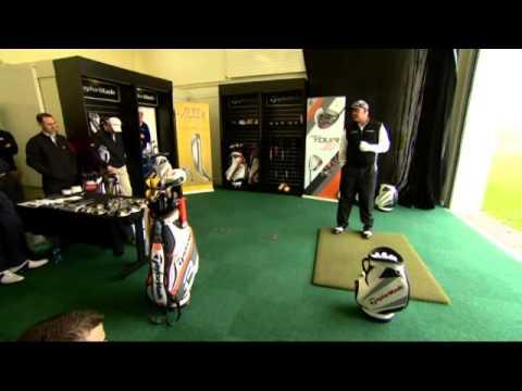 Darren Clarke Launches Taylormade Fitting Center at the Darren Clarke Golf School