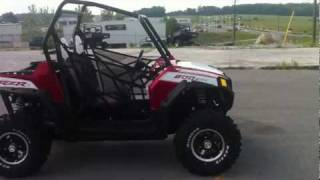 4. 2011 Polaris RZR S 800 Sunset Red LE