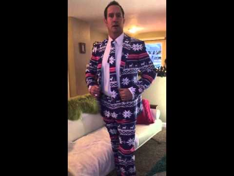 Ranger's New Christmas Suit