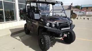 "9. 2019 Kawasaki Mule Pro FXT ""Hester"" Ranch Edition, lift, 30's, air horns AND MORE!"