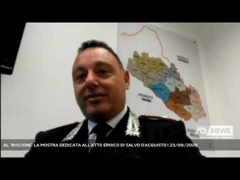 AL ''BISCIONE'' LA MOSTRA DEDICATA ALL'ATTO EROICO DI SALVO D'ACQUISTO | 23/09/2020