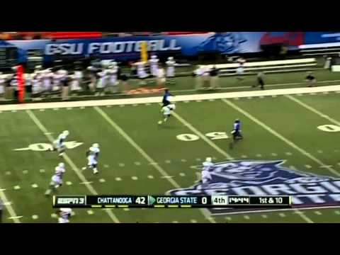 09/07/2013 UT Chattanooga vs. Georgia State Football Highlights