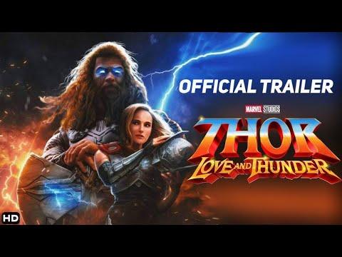 THOR : LOVE AND THUNDER : Official Trailer   Concept - Natalie Portman, Chris Hemsworth Marvel Movie