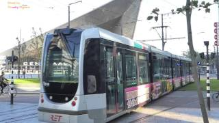 Rotterdam Netherlands  city pictures gallery : Trams in Rotterdam, Netherlands