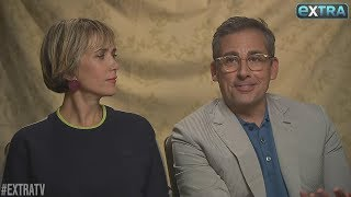 """Comedian Steve Carell is back as Gru in """"Despicable Me 3."""" """"Extra's"""" Renee Bargh sat down with Carell and his co-star Kristen Wiig to talk about the film,..."""
