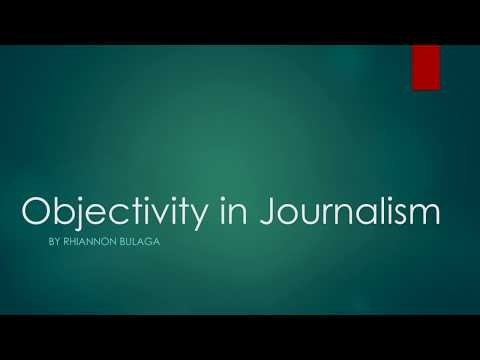 an analysis of objective in journalism Unlike most editing & proofreading services, we edit for everything: grammar, spelling, punctuation, idea flow, sentence structure, & more get started now.