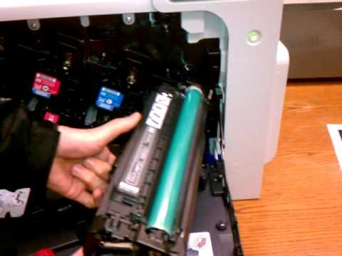 HP CP4025dn Large Capacity Black Toner Modification