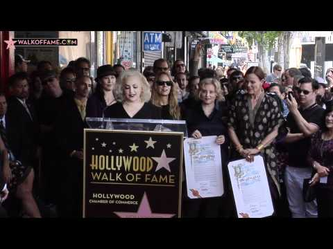 The Go-Go's Walk of Fame Ceremony