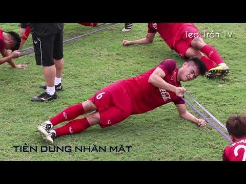 Buổi tập đầy tiếng la hét của các tuyển thủ U23 Việt Nam - Thời lượng: 12:25.