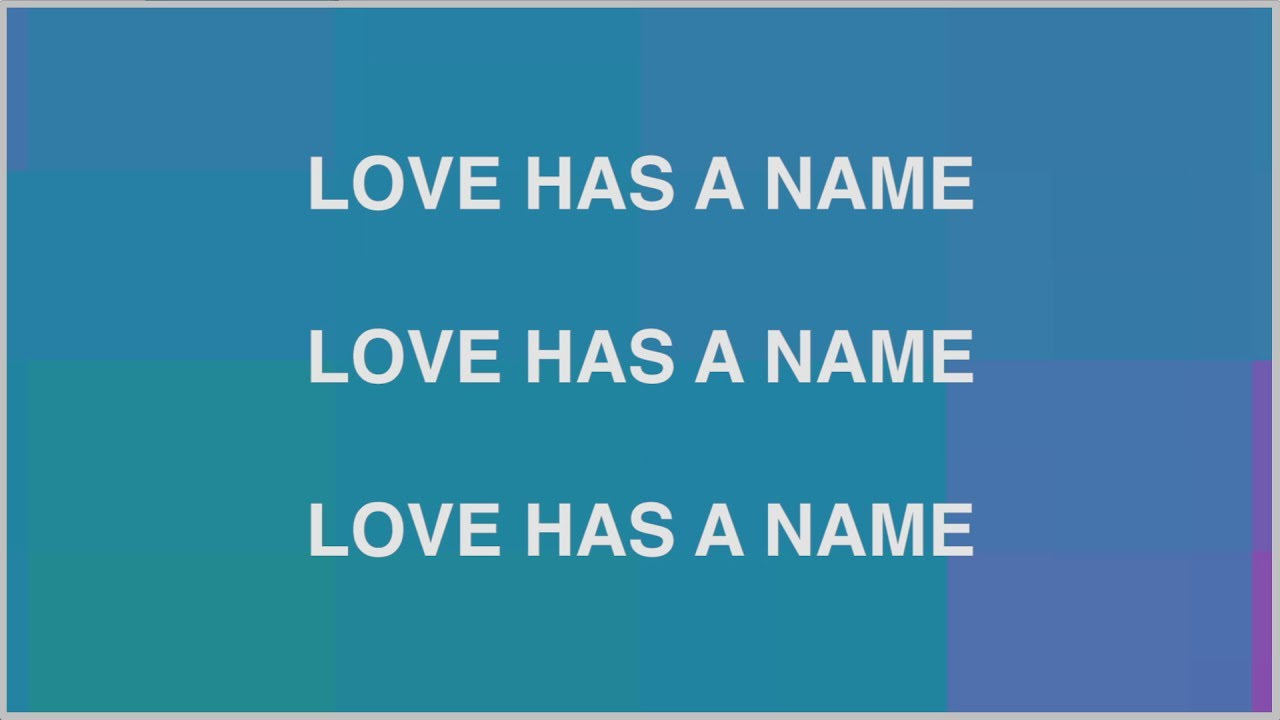 Love Has A Name ft. Kim Walker-Smith (Lyric Video)