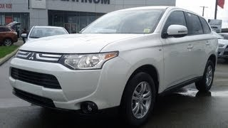 2014 Mitsubishi Outlander SE All Wheel Drive V6 Calgary Platinum Mitsubishi VIrtual Test Drive