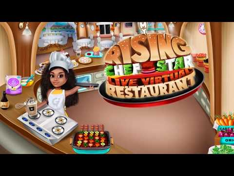 My Rising Chef Star Live Virtual Restaurant - Rising Chef Star Game Trailer By GameiCreate