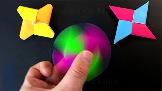 Video Origami Fidget Spinner - How to make a Fidget Spinner without a bearing: DIY Spinner with paper MP3, 3GP, MP4, WEBM, AVI, FLV November 2017