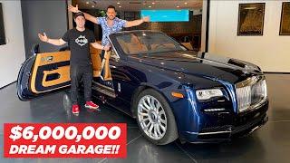 $6,000,000 HOUSE TOUR *AMAZING GARAGE* ft. Josh Altman by Vehicle Virgins