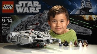 Nonton MILLENNIUM FALCON - LEGO Star Wars Set 7965 - Time-lapse Build, Stop Motion, Unboxing & Review Film Subtitle Indonesia Streaming Movie Download