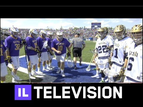 notre - A Matt Kavanagh goal in overtime gave No. 6 seed Notre Dame a thrilling 14-13 victory over Albany on Saturday afternoon in the quarterfinals of the NCAA Men'...