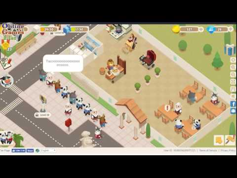 Dining Zoo Facebook Gameplay