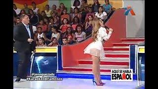 Video Jen Quezada En El Karaoke de los famosos en Aquí Se Habla Español MP3, 3GP, MP4, WEBM, AVI, FLV September 2018