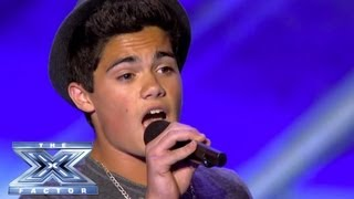 "Emery Kelly Doesn't ""Give Up"" - THE X FACTOR USA 2013"