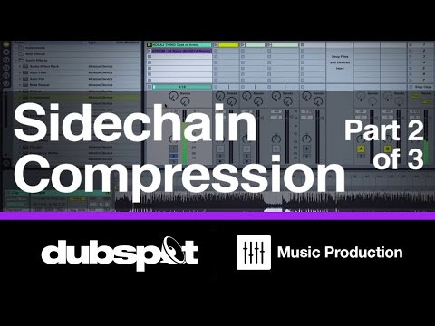 Ableton Live Tutorial: Sidechain Compression Pt 2/3 Basics