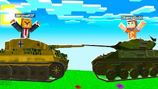 BUILDING A Tank In Minecraft