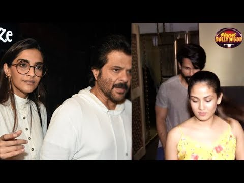 Anil Kapoor Dines With Sonam & Friends | Shahid's
