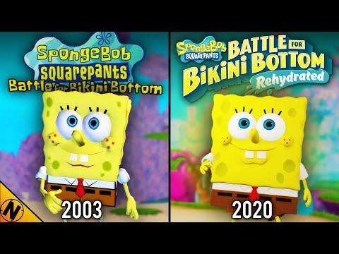 Spongebob: Battle for Bikini Bottom - Rehydrated vs Original | Direct Comparison