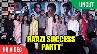 Video UNCUT - Raazi Grand Success Party | Alia Bhatt, Vicky Kaushal, Karan Johar, Meghna Gulzar MP3, 3GP, MP4, WEBM, AVI, FLV Agustus 2018