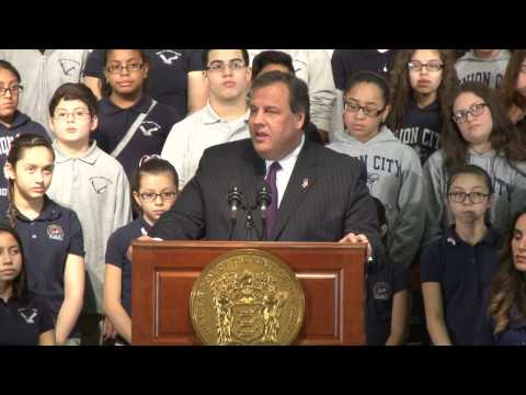 Governor Christie To Dreamers: You Are An Inspiration