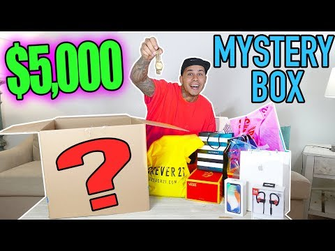 $5,000 Mystery Box From EBAY!!! (YOU WON'T BELIEVE THIS!!!) (видео)