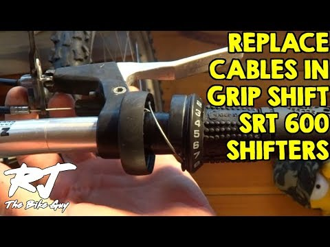 How To Replace Shifter Cable On SRAM Grip Shift SRT 600 Shifters