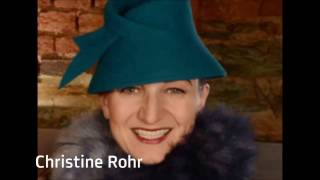Christine Rohr: Modistin