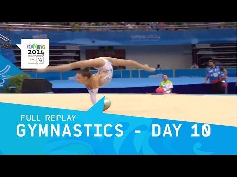 Rhythmic - Rythmic Gymnastics Day 10 Women's Qualifcations all-around group competition. Start List: - Tara Wilkie(AUS) - Shannon Gardiner(RSA) - Basma Ouatay(MAR) - Mayra Tiago Sineriz(BRA) - Maryia...