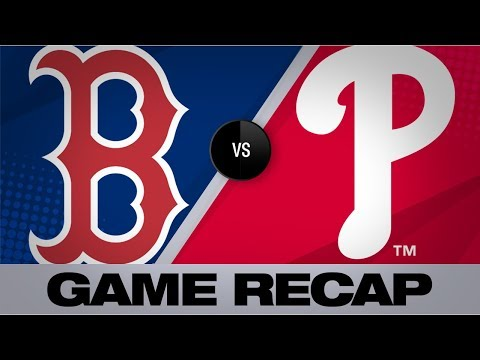 Video: Vazquez, Benintendi strike late to lift Sox | Red Sox-Phillies Game Highlights 9/14/19