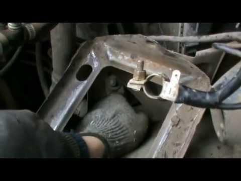 как поменять шкив коленвала на ваз 2106