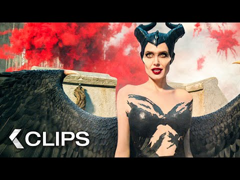 MALEFICENT 2: Mistress of Evil All Clips (2019)