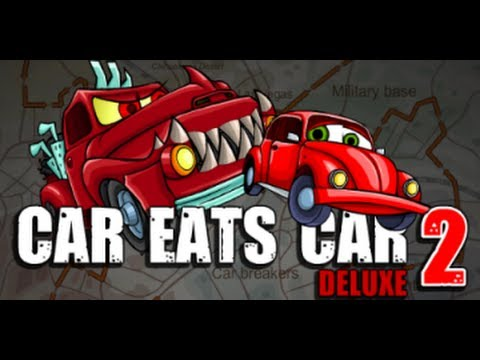 Car Eats Car 2 Deluxe Hacked Gameplay