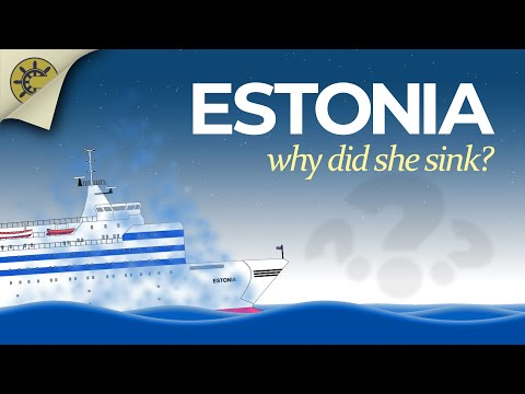MS Estonia   The story of her sinking