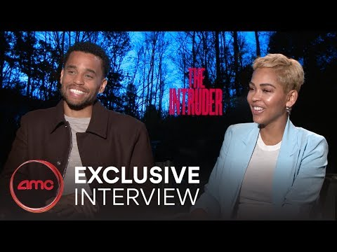 THE INTRUDER - Exclusive Interview (Meagan Good, Michael Ealy) | AMC Theatres (2019)