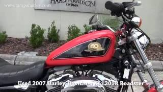 3. 2007 Harley Davidson Sportster XL 1200 R Roadster for sale in Florida