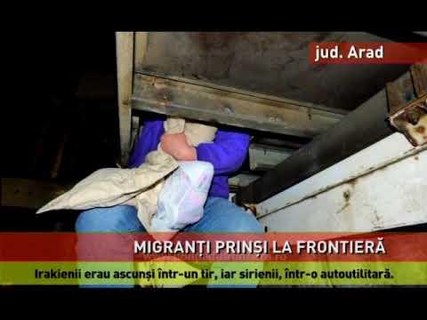 23 de irakieni şi sirieni au încercat să iasă ilegal din România