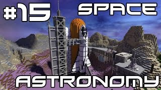 Minecraft Space Astronomy - Mine Factory Machines! #15