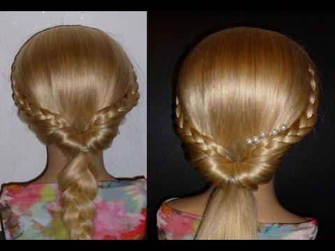 Прически в школу на средние волосы своими руками