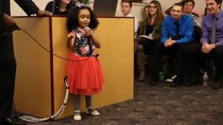 True Colors - Justin Timberlake, Anna Kendrick Cover By 4 Year Old Video